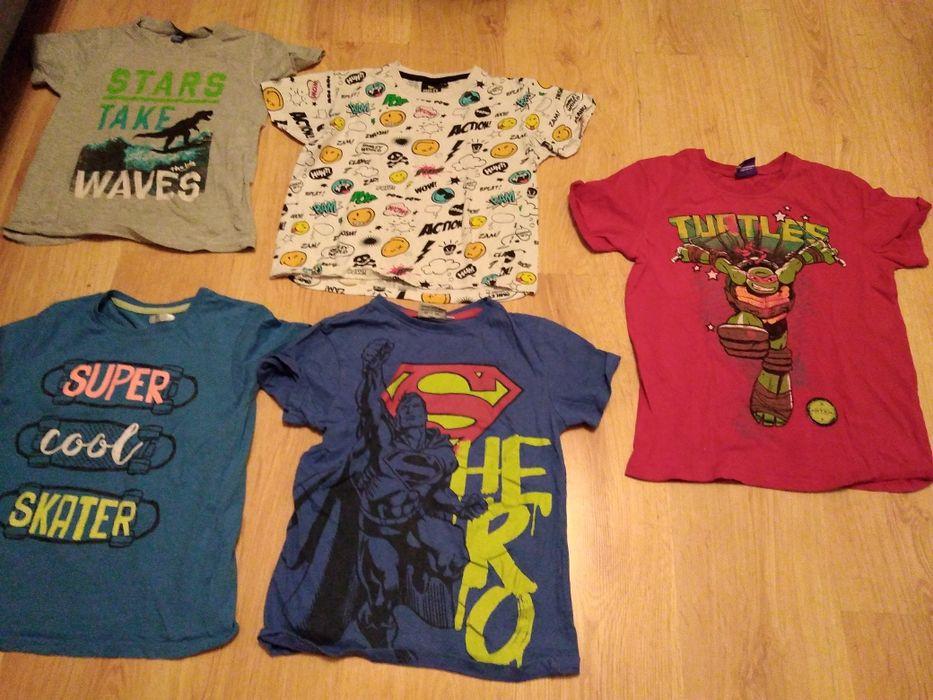 Koszulki dla chłopca superman, żółwie ninja Grudziądz - image 1