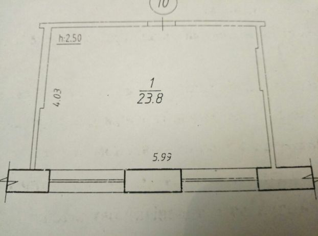 Большая комната в общежитии .