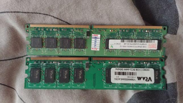 Оперативная память и видеокарта DDR2 3gb radeon x1650