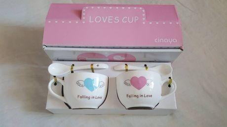 "Чашка для влюблённых! Керамика ""Loves cup"""