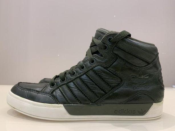 Кожаные кроссовки adidas cheap originals hardcourt, оригинал 36-37