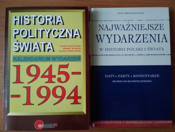 Historia polityczna świata... i Najważniejsze wydarzenia w historii...