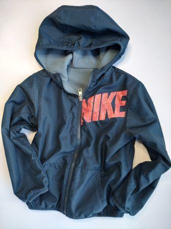 Nike świetna dwustronna kurtka bluza 116cm/122cm