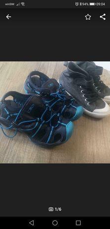 Cmp sandały i trampki H&m 31