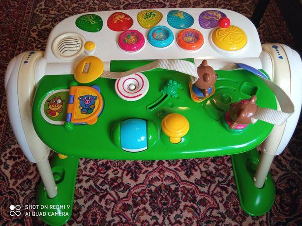Интерактивный развивающий игровой столик Chicco