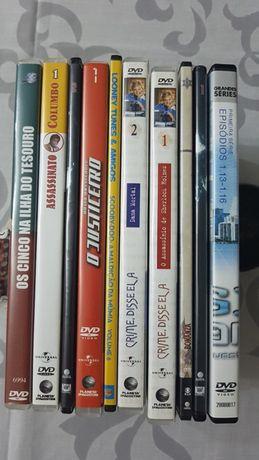 10 DVD Séries diversas