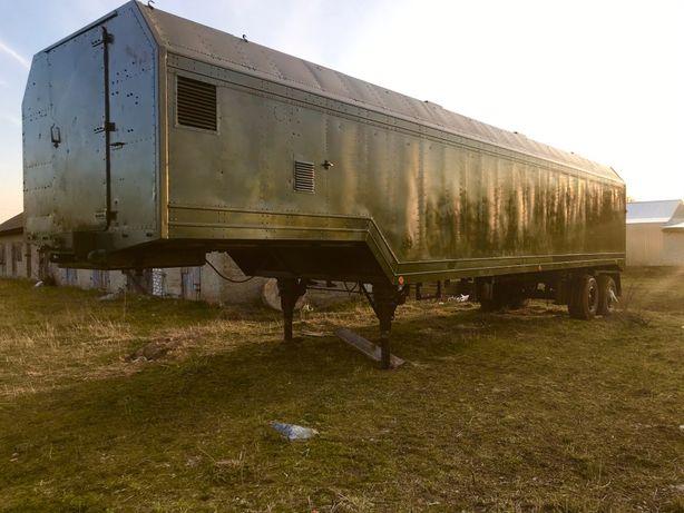 Продам Кунг Алюминевий 12 метрів