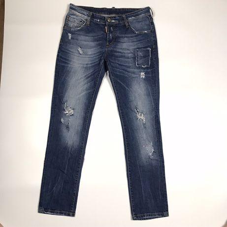 Оригинальные джинсы dsquared 2 (levis,evisu,stone)