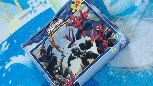 Puzzle Spiderman 42 elementy ,wiek 3+
