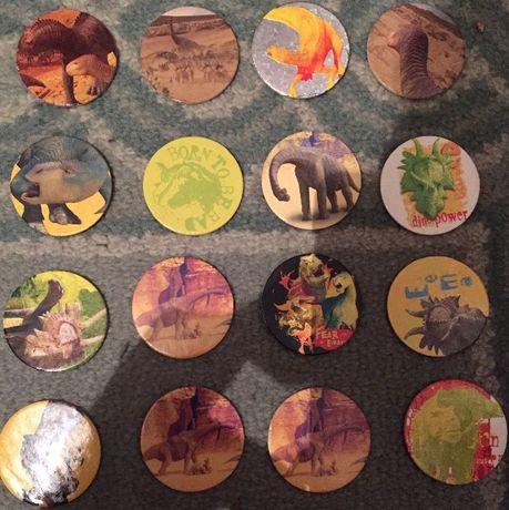 16 Tazos Walt Disney - Disney's Dinosaur / Dinosauro