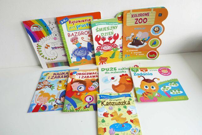 Książeczki , bajki , czytanki , kolorowanki dla dzieci - ZESTAW 5