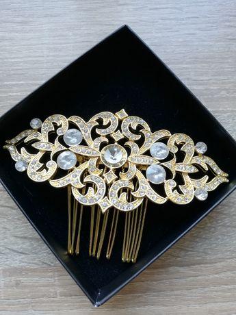 Biżuteria ślubna - ozdoba do włosów Novia Blanca
