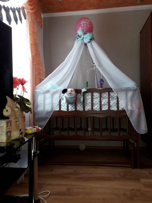 Гарна дитяча кроватка Славута - изображение 1