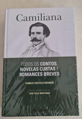 Obras de Camilo Castelo Branco em 4 volumes