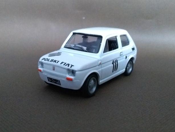 Fiat 126p Zasada Toruń 1975 Skala 1:43 Konwersja