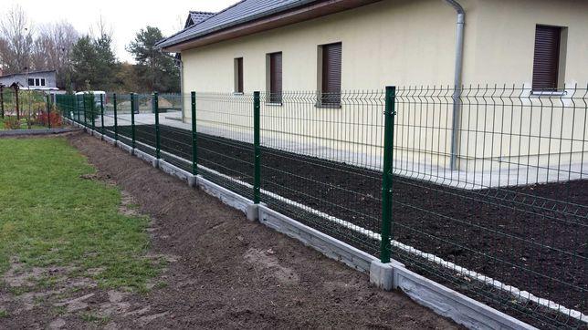 Materiał+montaż ogrodzenia panelowego