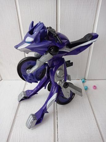 Робот трансформер мотоцикл Bandai, Бандай. Трансформер Хазбро Hasbro