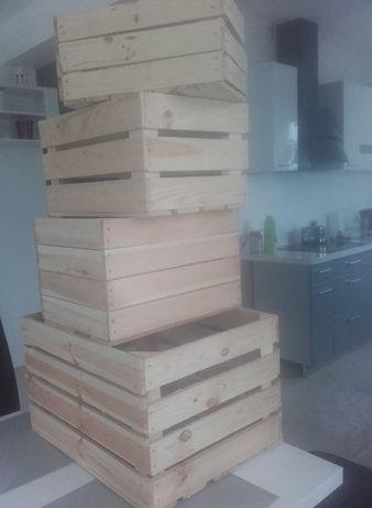 Sprzedam skrzynki drewniane