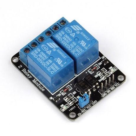 2 relay module arduino 5v 10A