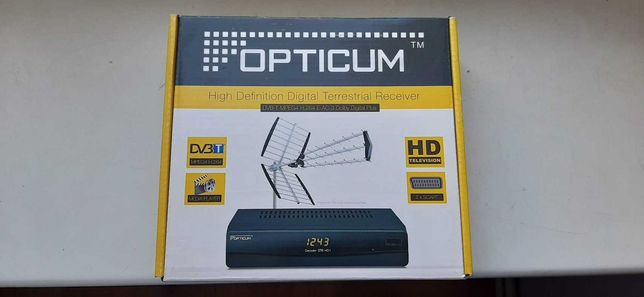 Dekoder TV naziemnej Opticom STB HD1