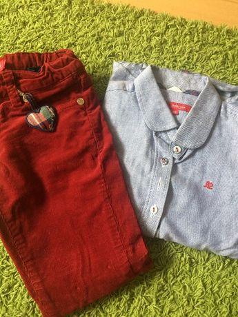 Blusa e calça de menina