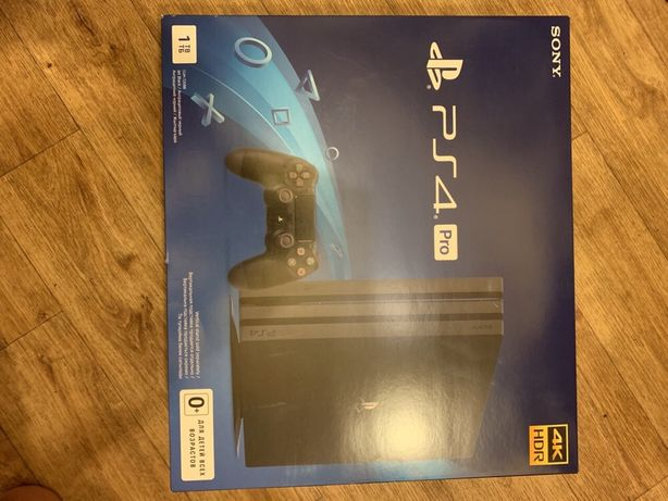 Приставка игровая консоль Sony PlayStation 4 pro PS4 1TB + 44 игры