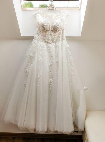 Suknia ślubna rozmiar 38 Ivory