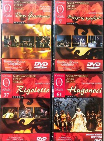 koncerty operowe, opery, operetki - DVD