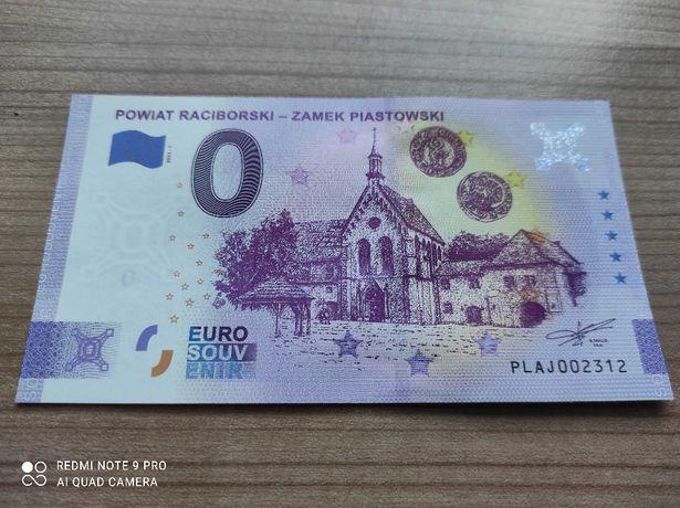 Banknot 0 euro Powiat Raciborski - Zamek Piastowski