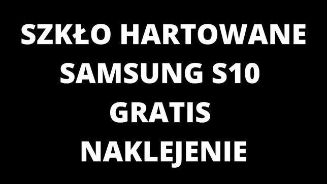 Szkło Hartowane Samsung s10 Gratis naklejenie