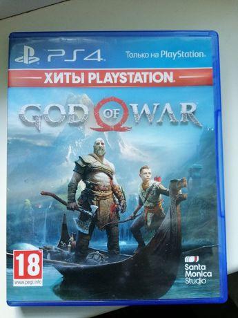 Игра God of War 4 для PS4