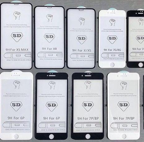Захисне скло Iphone 6/6s/7/7+/8/8+/X/XS/XS Max/XR/11/11 Pro/11 Pro Max