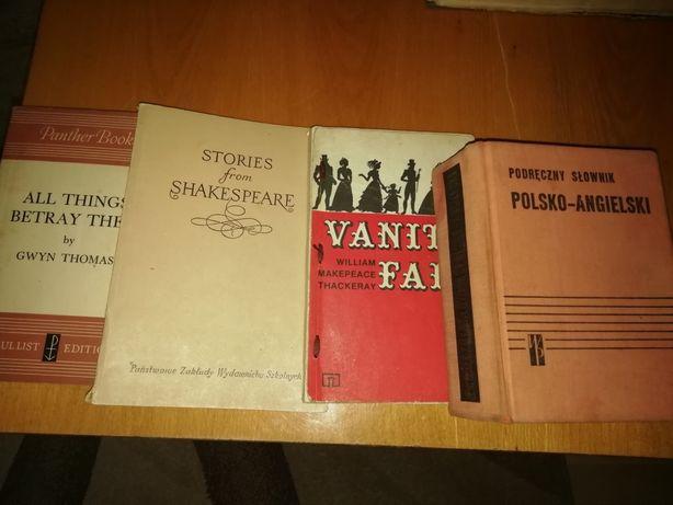 Stare książki drugiej połowy XX wieku
