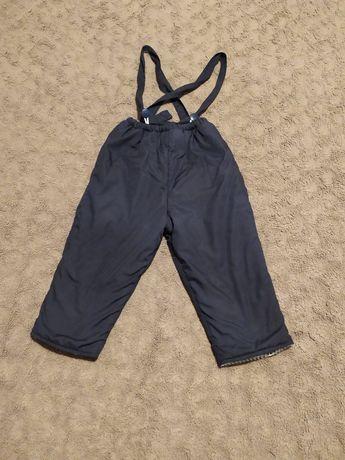 Spodnie zimowe narciarskie rozmiar 98
