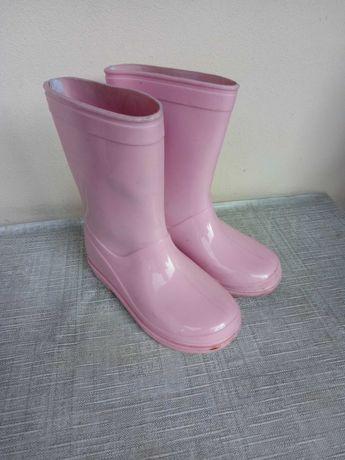 Kalosze różowe r. 29 dla dziewczynki