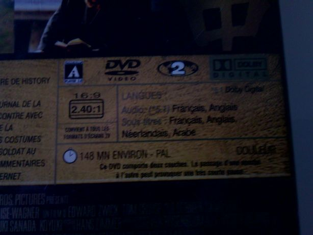 DVD original o Ultimo Samurai