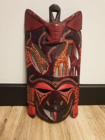 Ręcznie robiona maska afrykańska