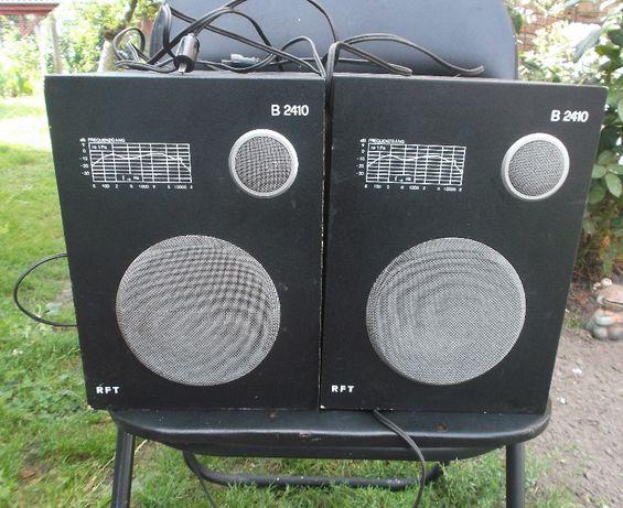 Dwa Głośniki RFT B2410 Dobry Stan Sprawne