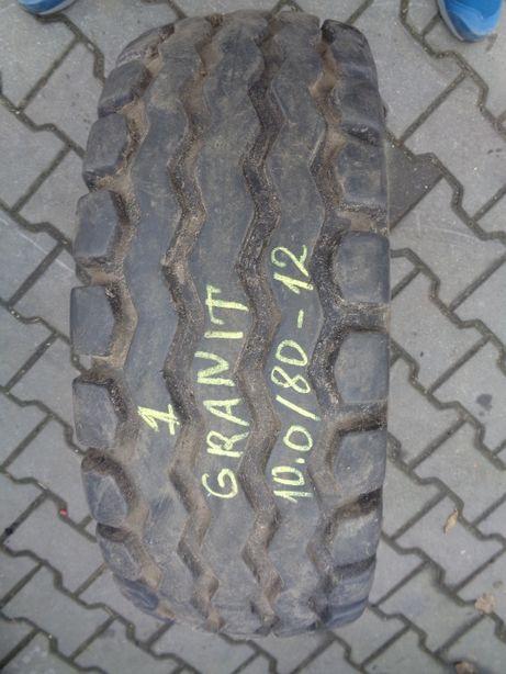 Opona przemysłowa 10.0/80-12 Granit przyczepa tandem beczka*