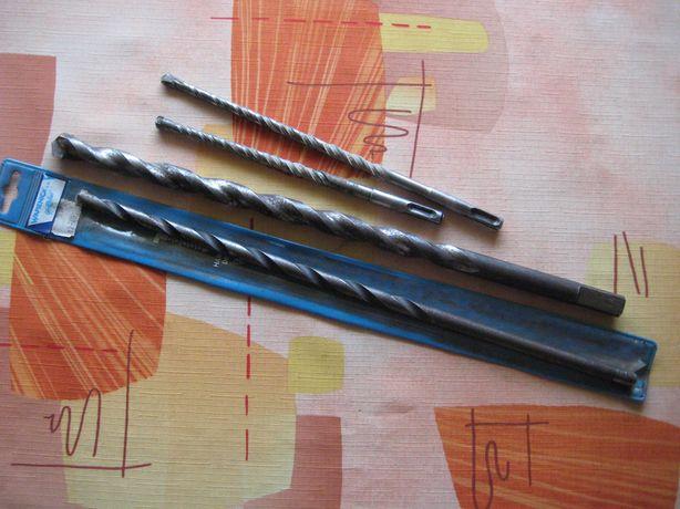długie wiertło do betonu 400 mm fi20 PRL fi12 GLOBUS SDS zestaw 4 szt