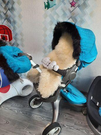 Коляска Stokke  летний и зимний kit