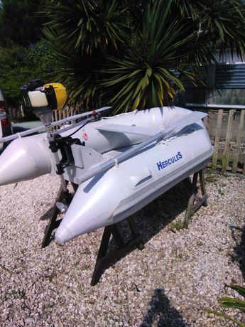 Barco 220 hercules com motor