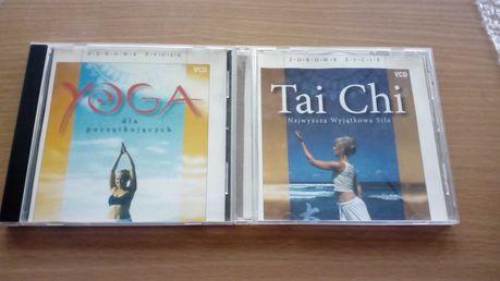 Yoga dla początkujących, TaiChi  -2 Płyty VCD