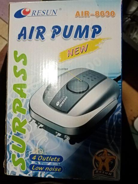 Air pump 8000 napowietrzacz brzęczyk