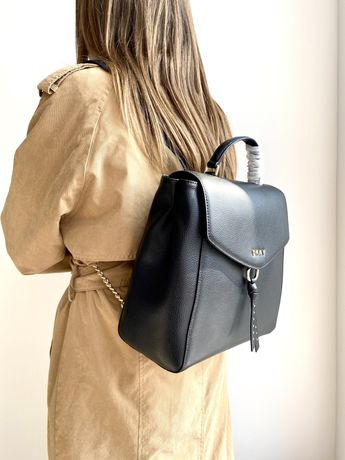Рюкзак DKNY Рюкзачок Рюкзачёк Donna Karan кожаный кожа не Michael Kors