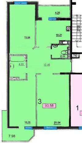 Продам 3-комн квартиру на Черемушках/Шота Руставели/центр