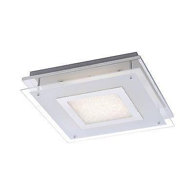 Plafon KISA LED chrom szkło Leuchten Direkt 50398-1