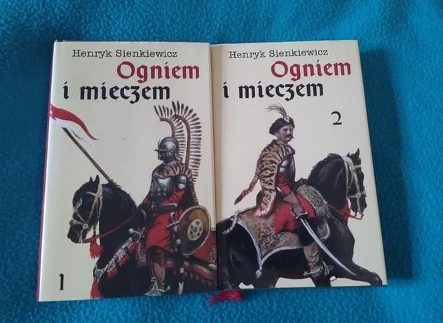 Książki ogniem i mieczem