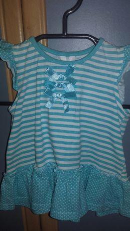 Koszulka dla dziewczynki 68r 6zł