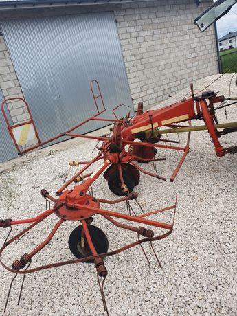 Przetrzasarka Niemeyer HR-551-DH, pająk do siana
